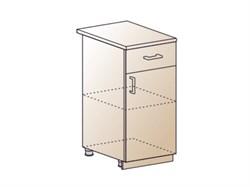 Шкаф нижний с 1 ящиком 400 - фото 4544