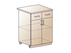 Шкаф нижний с 1 ящиком 600 - фото 4566