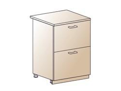 Шкаф нижний с 2 ящиками 600 - фото 4568