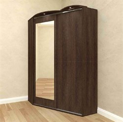Шкаф-купе угловой 2-х дверный