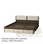 Кровать Грация №2 с ящиками
