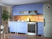 Кухня Марта горизонтальные шкафы