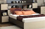 СПАЛЬНЯ БАСЯ кровать с прикроватным блоком
